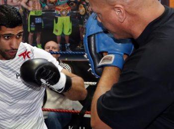Cá cược boxing: Virgil Hunter hy vọng Amir Khan tiếp tục