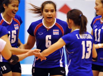 Thái Lan vô địch bóng chuyền nữ Châu Á
