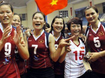 Bóng chuyền nữ Châu Á 2013: Việt Nam xếp hạng 6