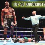 Top 50 cú Knockout của Boxing 2018