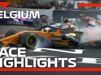 Giải thưởng lớn Bỉ 2018: Highlight cuộc đua