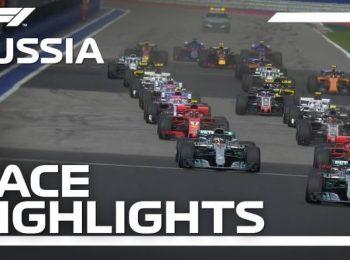 Grand Prix Nga 2018: Highlight cuộc đua