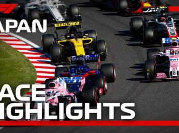Grand Prix Nhật Bản 2018: Highlight cuộc đua