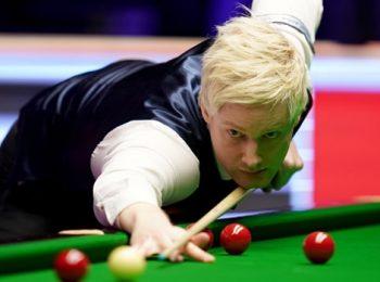 Robertson chiến thắng giải Bi-da Master Châu Âu