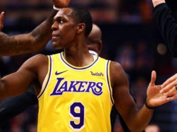 Rondo và Kuzma giúp LA Lakers giành chiến thắng