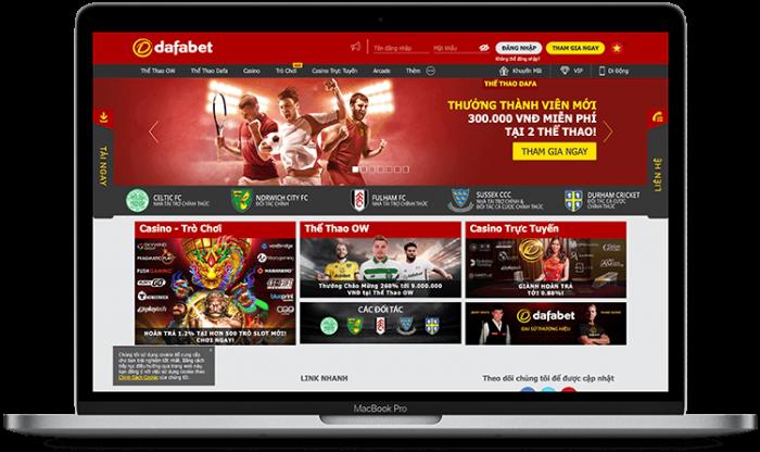 Link vào Dafabet (Máy tính + Di động)   Dafabet tặng 300k cược miễn phí