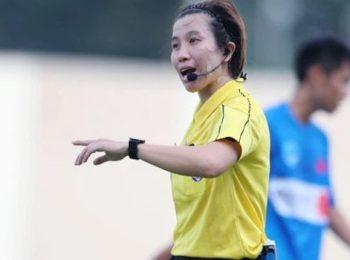 V-League sẽ sớm có trọng tài nữ cầm còi?